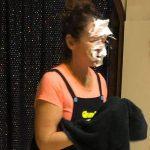 auntie jojo custard pie face
