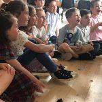 children at comedy show in hemel hempstead