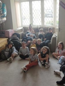 home birthday magic show