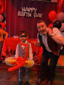 magic martin birthday party show in wembley