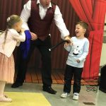kids magic party in chipperfield