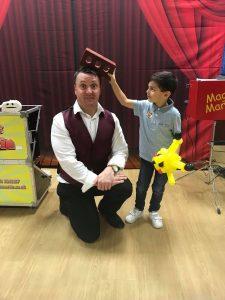 kids magic show in hemel hempstead
