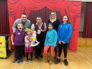 childrens magic show in leighton buzzard
