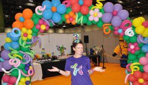 Auntie JoJo London balloon decor