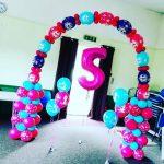 Auntie JoJo balloon decor