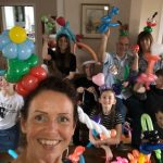 balloon modeller party