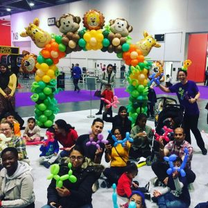 Auntie JoJo balloon workshop London