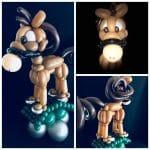horse balloon animal model