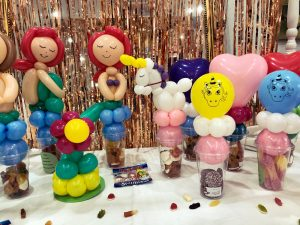 collection of balloon models