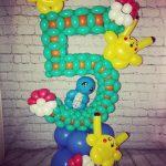 balloon decor pokemon