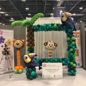balloon trade stand in london