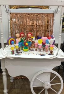balloon trade show stand in london