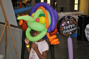 balloon witches hat in london