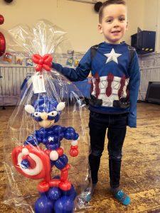 captain america balloon model