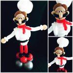 chef balloon model