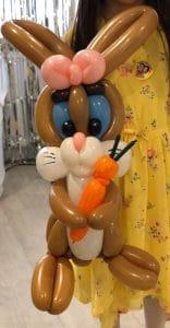 rabbit balloon model