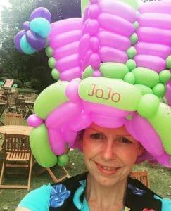 balloon hat jojo