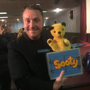 magic martin with sooty