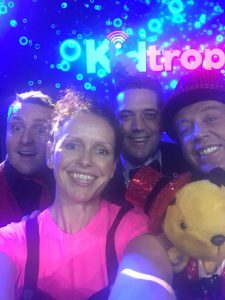 magic martin and auntie jojo with richard sooty and michael