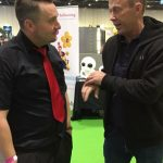magic martin and richard from sooty tv show in london