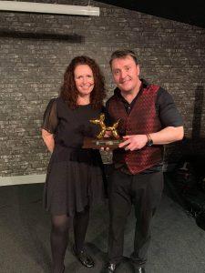magic martin and auntie jojo winning an award