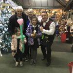 Magic Martin balloon modeller Tring Garden centre