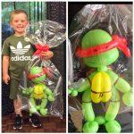 ninja turtle balloon model