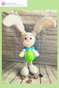 easter rabbit balloon model