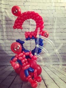 spiderman balloon model
