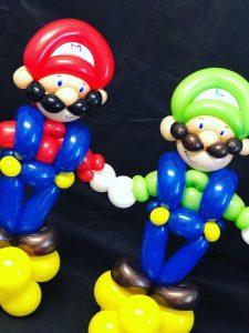 mario bros balloon model