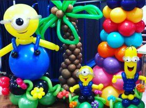 balloons at london trade show