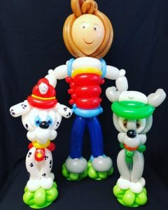 paw patrol balloon models