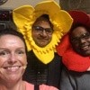 auntie jojo and flower hats