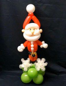 santa balloon model